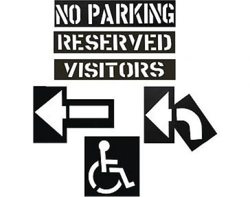 Econo Parking Lot Stencil Kit