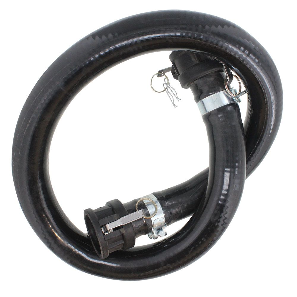 """2"""" Tote Suction Hose (5') with Fitting Assembly"""