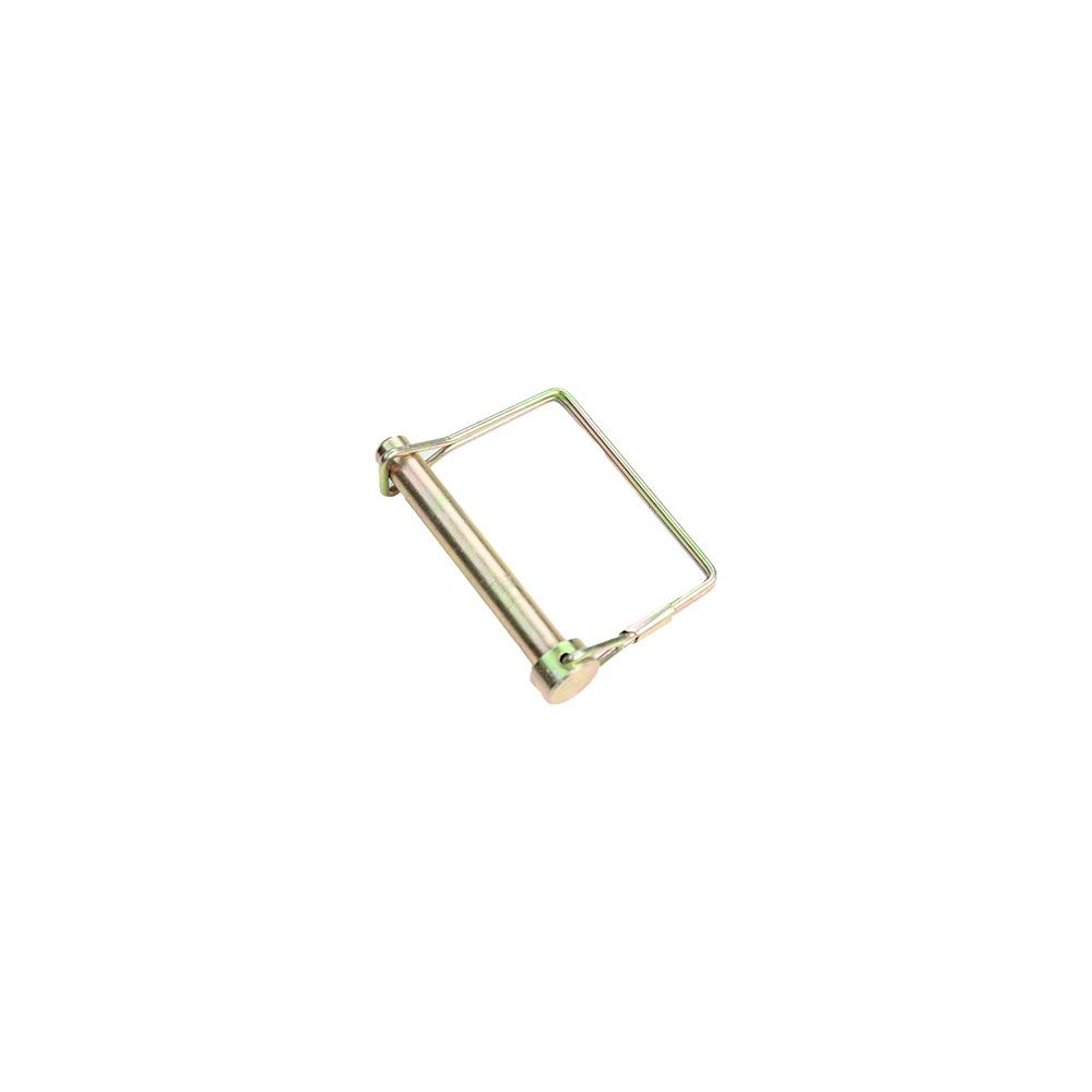 """3/8"""" x 2-1/2"""" PTO Lock Pin with Square Wire Retainer"""