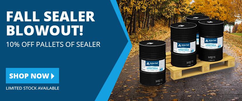10% off on Asphalt Sealer until sold out!