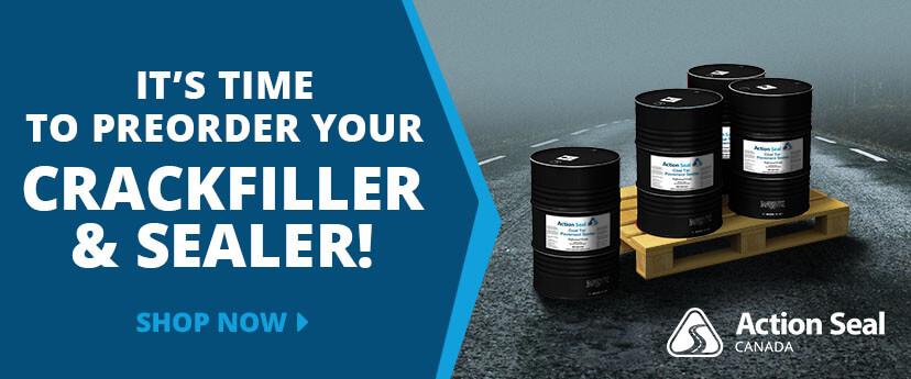 Preorder Your Crackfiller and Sealer